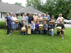 2016 Bat Box Volunteers